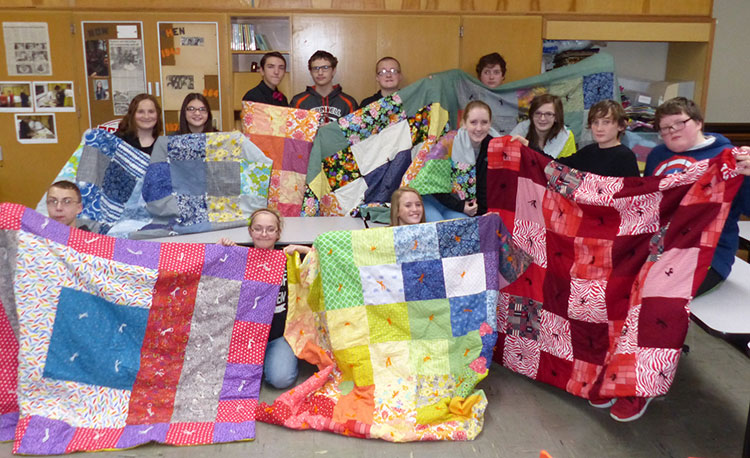 quilts for refugees class